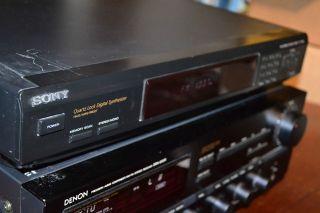 SONY ST JX661 FM AM STEREO TUNER DIGITAL SYNTHESIZER 30 Station Memory