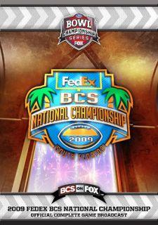 2009 BCS National Championship Game Florida vs Oklahoma