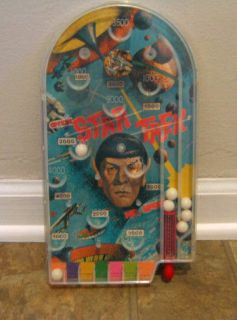 Pictures Space SPOCK STAR TREK Handheld PINBALL Toy Game Rare