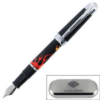 Waterman Harley Davidson Free Wheel Flames Fountain Pen