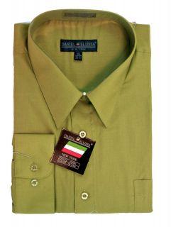 mens lime green dress shirt in Dress Shirts