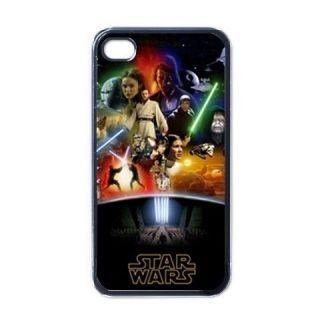 Star Wars Clones Jedi Apple iPhone 4 Hard Case Cover