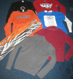 Navy Nike Orange County Choppers Shirts Pants Sweaters Lot Size 14 16