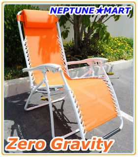 Zero Gravity Folding lounge Chair leisure recliner Orang​e