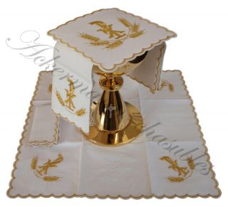 Embroidered altar linens AL SET 7 us