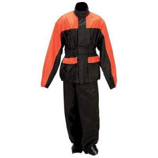 Hawg Hides 2PC Motorcycle Rain Suit Gear New Large
