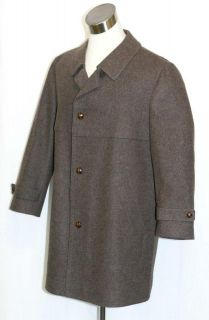 WOOL Men German WINTER Dress Sport Suit Trench JACKET Over Coat XL