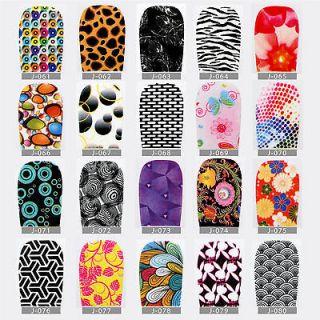 Nail Polish Strips Nail Art Stickers Nail Decals Foil 6180