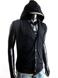 New sleeveless hoodie men lady gym sweat shirt cardigan tracksuit size