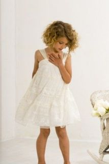 BAREFOOT WEDDING IVORY TEEN GIRLS PARTY SPECIAL OCCASION DRESS