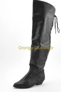 thigh high pirate boots in Womens Shoes