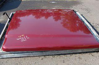 04 12 FORD F150 FIBERGLASS TRUCK CAP BED LEER LID LEER700 W/ KEY