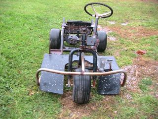 HARLEY DAVIDSON GOLF CART FOR PARTS USED NR
