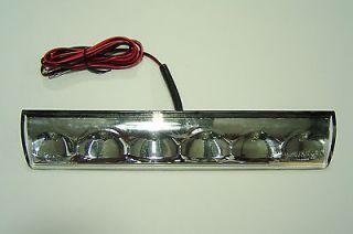 Truck cap Topper 3rd Brake Light LED recessed Leer Fiberglass Cap