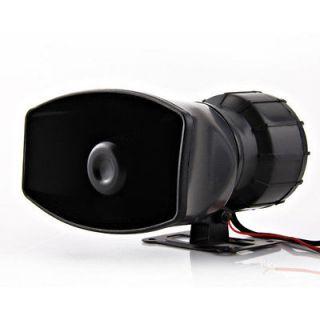 Car Van Truck 12V 5 Sound Loud Horn/Siren Max Speaker Alarm&PA System