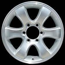 factory oem 6 spoke chrome wheels rims for 2003 2009 Toyota 4Runner