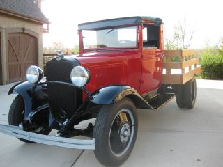Other truck 1933 Restored Chevy 1 1/2 ton Dual tire flat bed truck