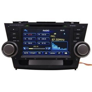 Car GPS Navigation Radio HD Touch Screen DVD Player for 08 11 Toyota