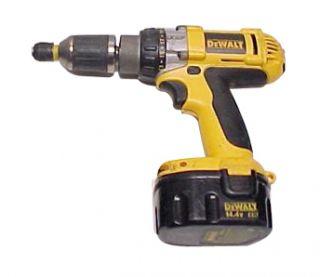 DeWalt DW983 14.4V DC Li Ion 1 2 Cordless Drill Driver