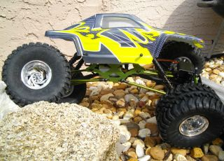 4WD 4WS CUSTOM ROCK CRAWLER NEW RTR IMEX TIRES AX10 VENOM AXIAL