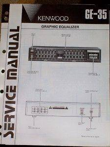 kenwood graphic equalizer in Equalizers
