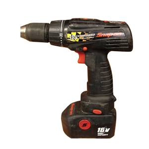 Snap On CDR3850 18V DC NiCd 1 2 Cordless Drill Driver