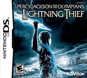 Percy Jackson the Olympians The Lightning Thief Nintendo DS, 2010