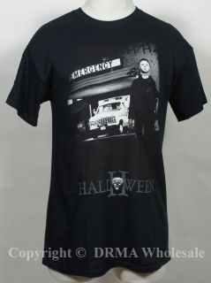 Authentic HALLOWEEN 2 Emergency Michael Myers T Shirt S M L XL XXL NEW