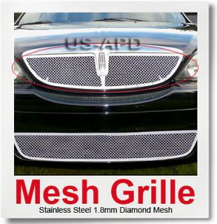 00 02 Lincoln LS Stainless Steel Mesh Grille Insert (Fits Lincoln LS)