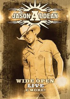 Jason Aldean Wide Open Live and More DVD, 2009