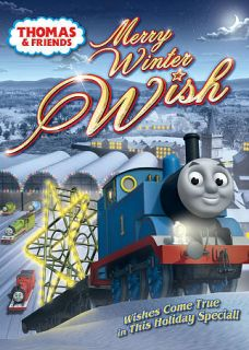 Thomas Friends Merry Winter Wish DVD, 2010