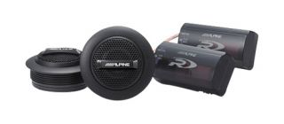 Alpine Type R 1 silk ring dome tweeter set Car Speaker