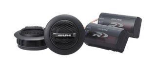 Alpine Type R 1 silk ring dome tweeter set Car Speaker