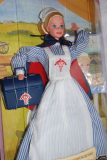 Civil War Nurse 1996 Barbie Doll ~ American Stories Collection ~ MIB