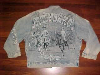Tony Alamo N Dakota Roosevelt Rough Riders Unfinished Jacket L Free