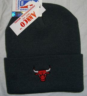 Chicago Bulls hat cap beanie official NBA Basketball Brand New winter