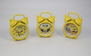 Spongebob Squarepants Alarm Clock,Lovely Cartoon Desk Clock,1.77x2.3