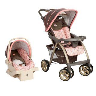 Saunter Luxe Stroller & Car Seat Travel System   Magnolia  TR234BKO