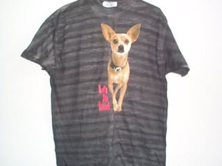 New TACO BELL CHIHUAHUA DOG Tie Dye Vintage 1998 T SHIRT Size Mens