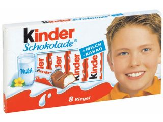 Kinder Chocolate   64 bars (800g / 25.72oz)