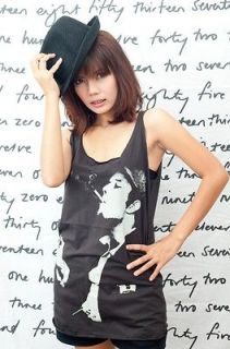 Tom Waits Folk Blues Jazz Classic POP ART WOMEN T SHIRT DRESS Tank TOP