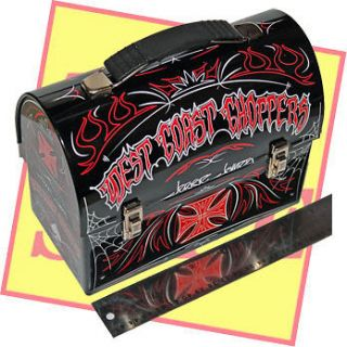 JESSE JAMES WEST COAST CHOPPERS MAC TOOLS LUNCH BOX these are the last