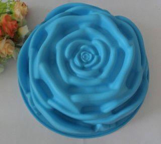 1PCS Rose mold silicone mold cake mold cake tools baking tools