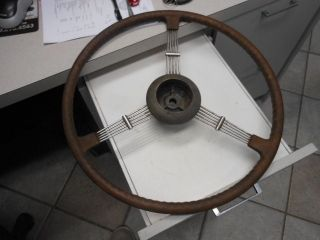 banjo steering wheel in Vintage Car & Truck Parts
