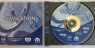 Chrysler Dodge Jeep Moper Navigation Update DVD AH 2010 data map