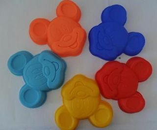 Disney Mickey Minnie Mouse Silicone Cake Chocolate Soap Candle Pan