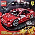 New LEGO RACERS 8143 Ferrari 1:17 F430 Challenge Builds Red or Yellow