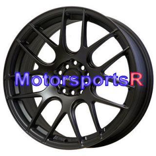 XXR 530 Flat Black Wheels Rims Concave 06 Acura RSX Type S 04 08 TSX