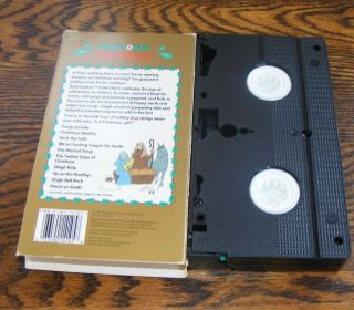 Baby Songs Baby Songs Christmas (VHS, 1991) Golden Book Video