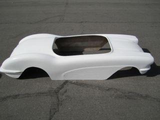 1959 Chevy Corvette hot rod go kart fiberglass body